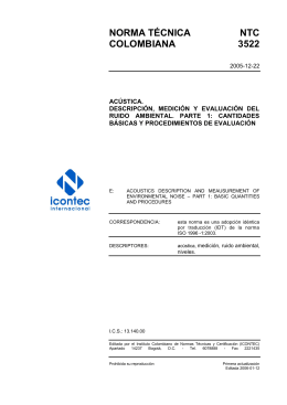 NTC 3522 - ICONTEC Internacional