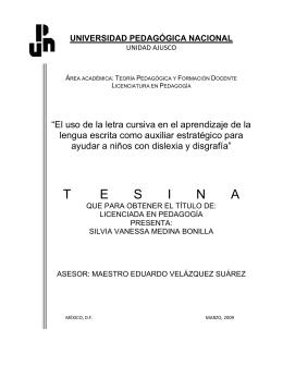 El uso de la letra cursiva en el aprendizaje de la lengua escrita