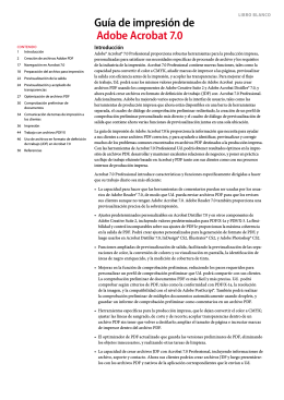 Adobe Acrobat 7.0 Printing Guide