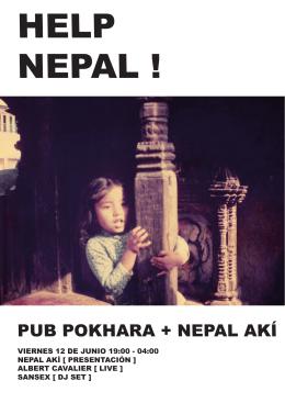 PUB POKHARA + NEPAL AKÍ