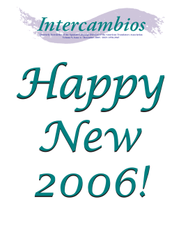 Intercambios - ATA Spanish Language Division