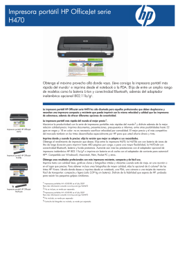 HP OfficeJet serie H470