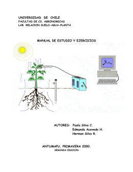manual - SAP - Relación Suelo Agua Planta