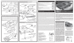 AMT686 1969 GTX Instructions Outer_ENG_FRE_SPA