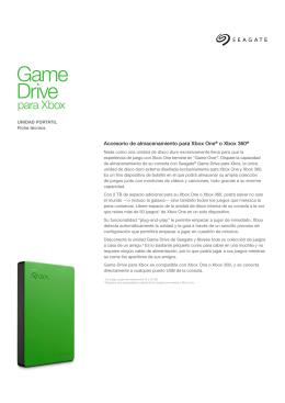 Accesorio de almacenamiento para Xbox One® o Xbox 360