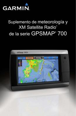 Suplemento de meteorología y XM Satellite Radio® de la serie