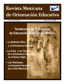 Tendencias de la Matrícula de Educación Superior en México.