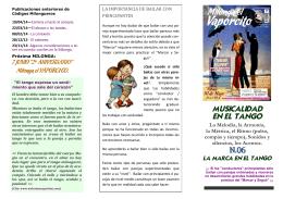 Folleto n.6 - Puerto Menesteo Tango