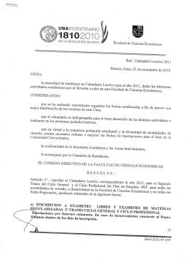 UBABICENTENARIO - Facultad de Ciencias Económicas