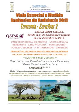 SANITARIOS DE ANDALUCIA