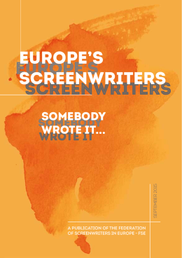 doWnloAd - Federation of Screenwriters in Europe