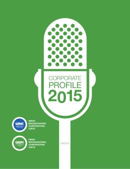Corporate profile - La Poderosa 670 AM