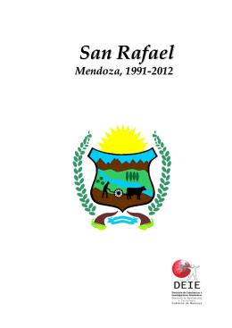 San Rafael - Dirección de Estadísticas e Investigaciones Económicas