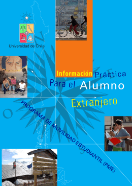 Alumno Extranjero - Universidad de Chile