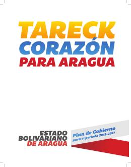 Líneas Estratégicas del Plan de Desarrollo del Estado Aragua.