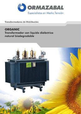 Transformadores de Distribución ORGANIC