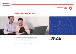 ¿CÓMO FUNCIONA EL HD DVD?