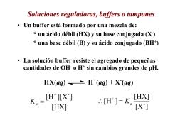 Buffer, titulacion, Kps