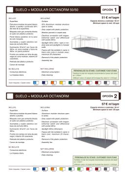 suelo + modular octanorm 50/50 suelo + modular octanorm
