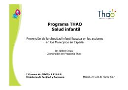 Programa THAO Salud infantil