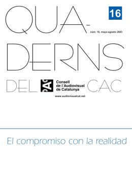 Q16 castell..qxd - Mesa per a la Diversitat en l`Audiovisual