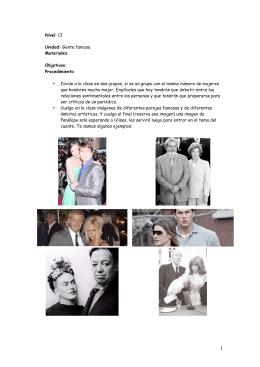 mitos y famosos
