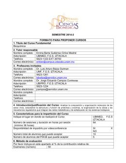 SEMESTRE 2014-2 FORMATO PARA PROPONER