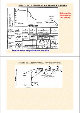 Transiciones en polímeros amorfos