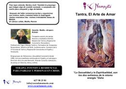 Tantra, El Arte de Amar