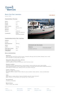 Barco: Sun Fast. Jeanneau.