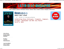 LBMO.com - Latin Beat Magazine - Latin Music Magazine