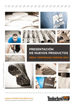 PRESENTACIÓN DE NUEVOS PRODUCTOS