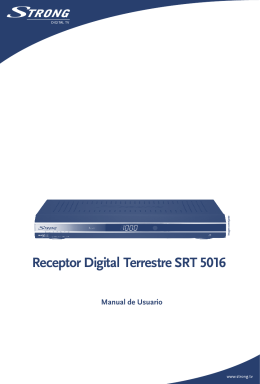 Receptor Digital Terrestre SRT 5016