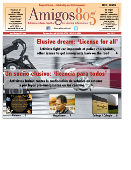 Elusive dream: `License for all` Un sueño elusivo