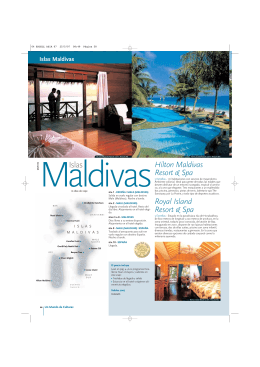 Hilton Maldivas Resort & Spa Royal Island Resort & Spa