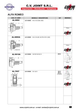 Catálogo 1era. parte