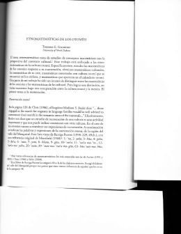 ETNOMATEA,TIITICAS DE LOS OTOMIES