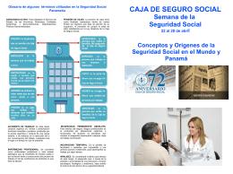 Brochure Conceptos de Seguridad Social