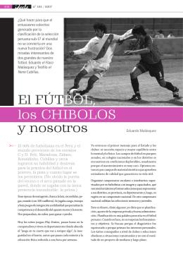 El fútbol, los Chibolos y nosotros