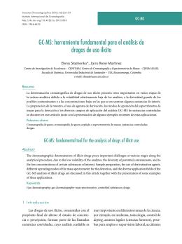 GC-MS - Scientia Chromatographica