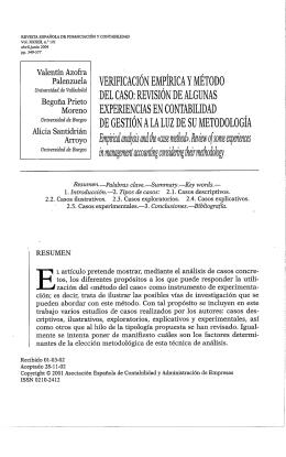 Acceso Disponible - Asociación Española de Contabilidad y