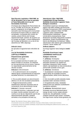 Real Decreto Legislativo 1564/1989, de 22 de diciembre, por