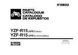 YZF-R15(2PB1)ANGOLA - Yamaha Motor México