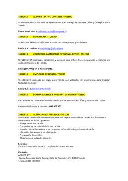 163/2015 ADMINISTRATIVO CONTABLE – TOLEDO