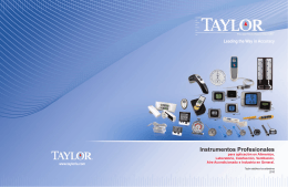 CATALOGO TAYLOR_MAR2010 WEB