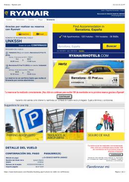 Itinerary - Ryanair.com