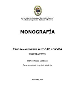 Programando para AutoCAD con VBA