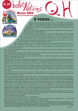 Boletín 27 - Marcha Cicloturista Quebrantahuesos y Treparriscos