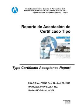 Reporte GSAC-4 0-8-02 Hartzell HCD4 - HCE4