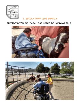 l` escola pony club granja presentación del casal